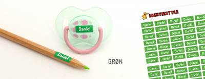 Minilapper Grøn