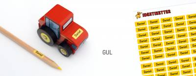 Minilapper Gul