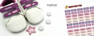 Minilapper Purpur