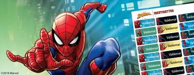 Spider-Man navnemærker