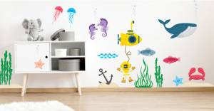 Wallstickers: Dybet