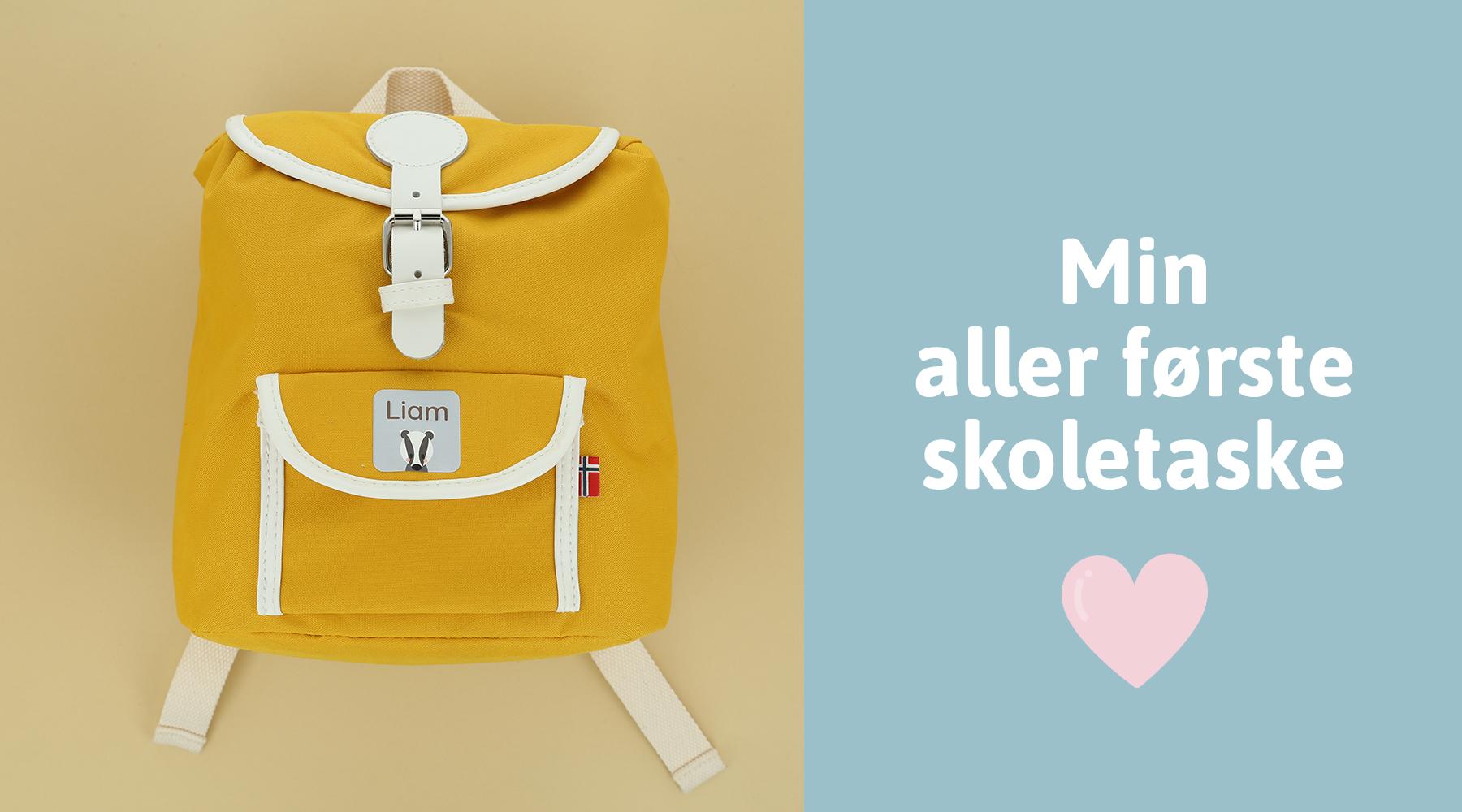 Skoletaske til børnehaveklassen