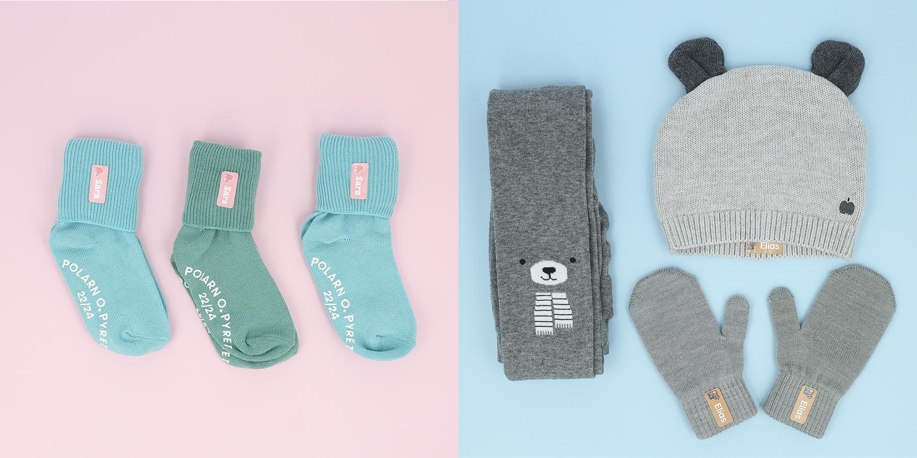 strygelapper til sokker