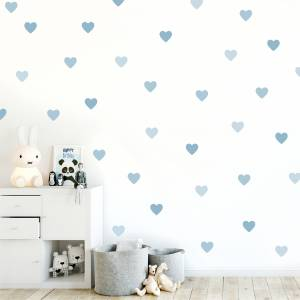 Wallstickers: Hjerter