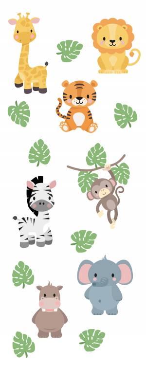 Wallstickers: Eksotiske dyr