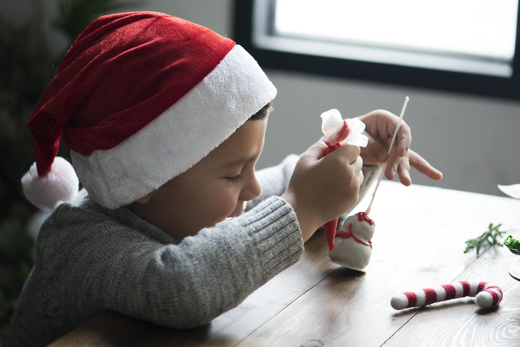 Enkel hjemmelavet julepynt til årets juleværksted