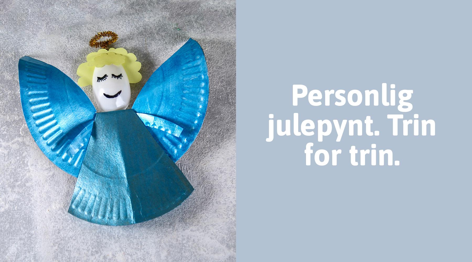 Lav en engel til årets juleværksted
