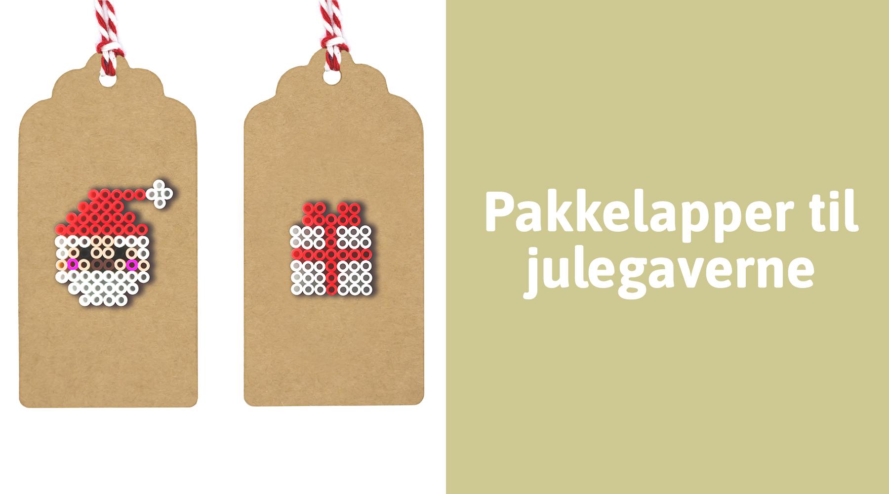Lav personlige pakkelapper til julegaverne