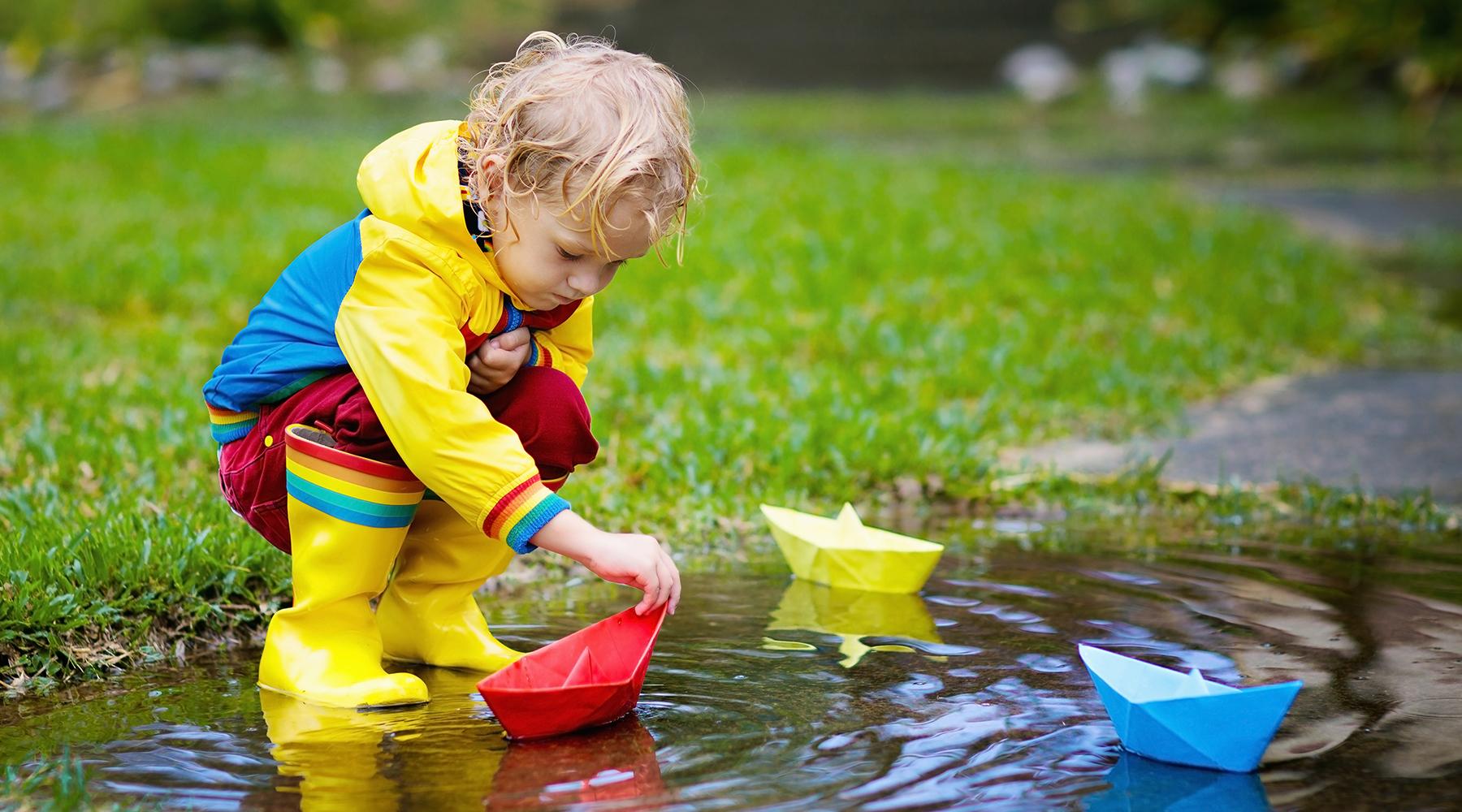 aktiviteter på en regnvejrsdag