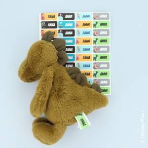Toy Story navnelapper til bamsen